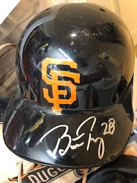 SF Giants Buster Posey Signed Helmet  Novato, 94947