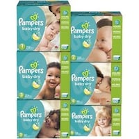 Pampers Baby Dry Economy Plus Size 1-6 Markham, L6B
