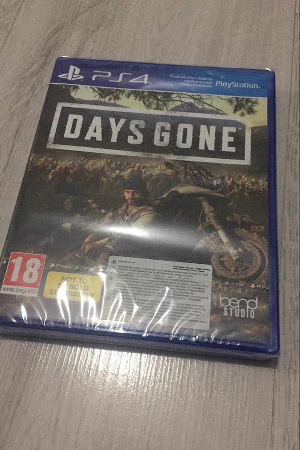 PS4 DAYS GONE SIFIR ÜRÜN 8296a94f-4fa4-4951-a0aa-3126f880d001
