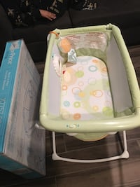 Fisher price portable Rock and Play Bassinet.  Never used