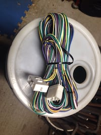 18 wire, wiring harness, 16 ga., 14 ft long, new, reduced