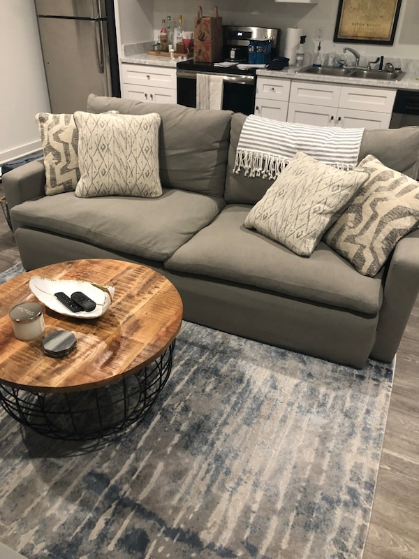 Used Gray Sofa For Sale In New Orleans Letgo