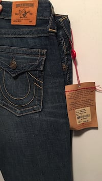 black TRue Religion denim bottoms