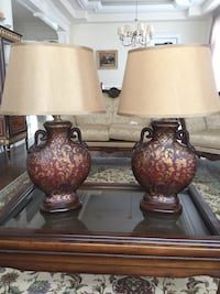 Table Lamp (set of 2) great conditions and no damage Toronto, M4T