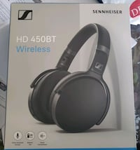 Sennheiser HD 450BT Over-Ear Noise Cancelling Bluetooth Headphones Mississauga, L5N 5T6