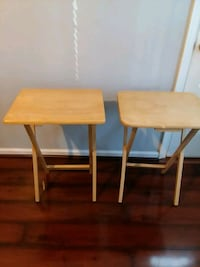 Foldable wooden tables Newport News, 23608