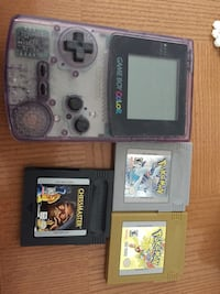 Game boy colour and 11 games 543 km