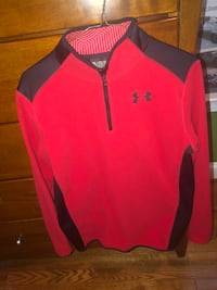 Red Under Armour quarterzip Washington, 20001