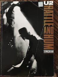 U2 guitar book Oshawa