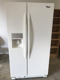 Whripool side by side refrigerator  Chantilly, 20151