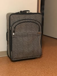 black and gray luggage bag Winnipeg, R2L 1P8