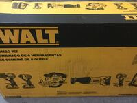 DEWALT 20-Volt MAX Lithium-Ion Cordless Combo Kit (6-Tool) with (2) Battery Raleigh, 27614