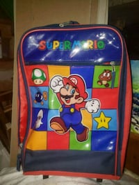 Super Mario suitcase travel with wheels Gulfport, 39503