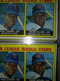 two assorted baseball player trading cards Baltimore, 21215