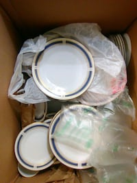 Noritake blue dawn china 6611 Houston, 77037