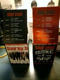 VHS Sopranos Complete 1 & 2 seasons $10.00 for both togeather Laval, H7P 3W3