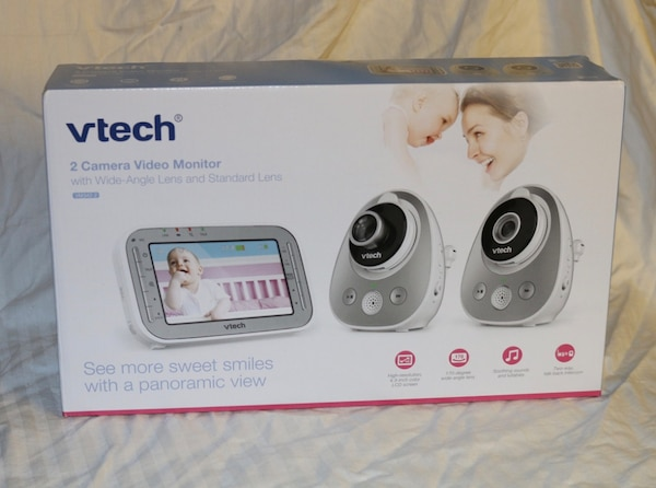 8c83d1bb313b5 Used VTech Two Camera Video Monitor VM342-2 SEALED Free Shipping NEW ...