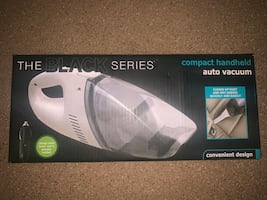 Rechargeable Portable Car/Home Hand Vacuum