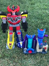 Imaginext megazord bundle  Palmdale, 93552