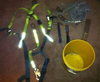 Roofing work saftey gear