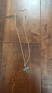 silver chain necklace with cross pendant Surrey, V3S 7Z3
