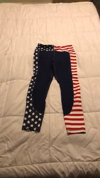 Stars and Stripes curves n combat boots leggings Silver Spring, 20902