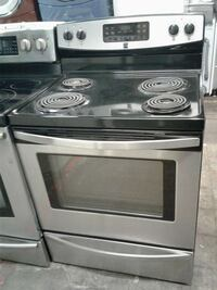 gray and black electric coil range stove Baltimore, 21223