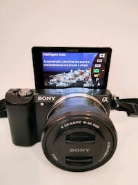 Sony a5000 Mirrorless Camera with 16-50mm and 55-210mm Lens Bundle