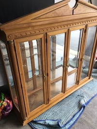 FREE China Top w/ mirror back and glass shelves Frederick, 21703