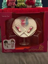 PENDING PICK UP -OG Doll Table and Chair Set-BN still in box Hagerstown, 21740