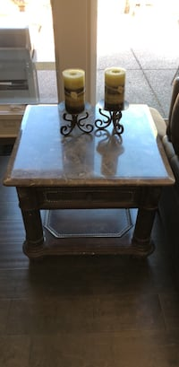 Like new marble top small table with drawer  Walnut Creek, 94598