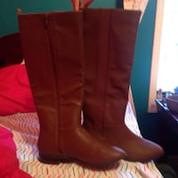 brown leather boots Weston, 26452