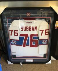 PK Subban Signed and Framed Montreal Canadians Jersey  Toronto, M8V 1H4