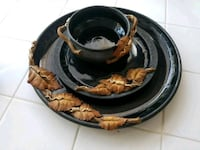 Clay grapevines serving set Carlsbad, 92009