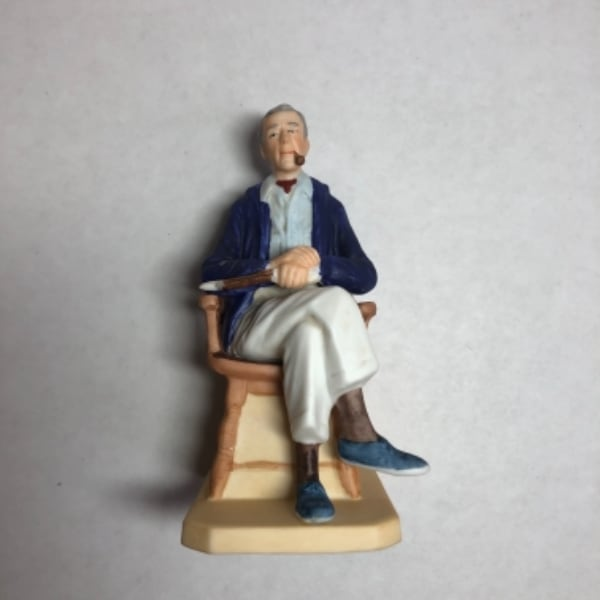 Norman Rockwell Ceramic Figurine Lot