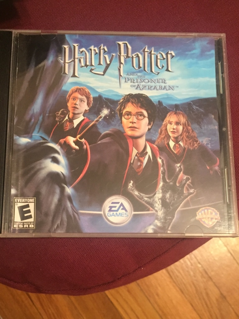 Harry Potter and the Prisoner of Azkaban game case for sale  Lynnfield