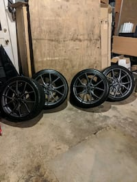 2017 Ford Focus RS factory rims and tires Silver Spring, 20901