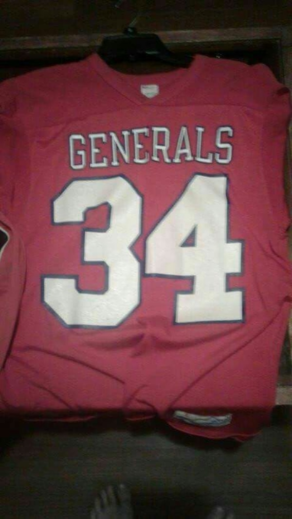 newest 797d7 74aa9 Hershel Walker USFL New Jersey Generals throwback
