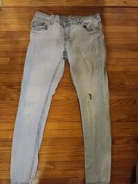 Forever21 light blue skinny jeans Wichita