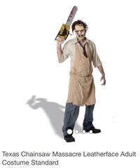 Adult leather face costume - Texas chainsaw masacre San Jose, 95148