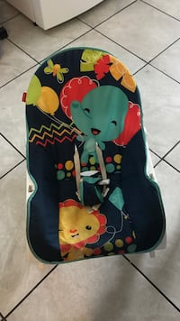 baby's blue and red Fisher-Price bouncer Delhi, 95315