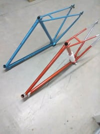 orange and blue bicycle frames Miami, 33147