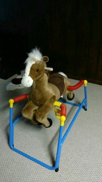 Childs riding horse McHenry, 60050