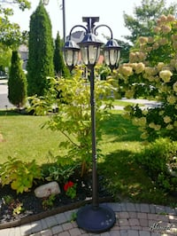 Out Side Solar stand lamp  Toronto, M1M 2Z2