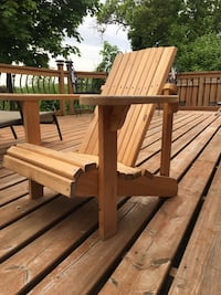 Muskoka chair Junior or petit person Plus picknig table
