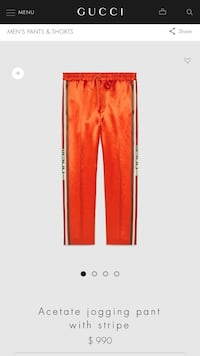 orange sweat pants screenshot Chamblee, 30341