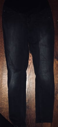 Black denim maternity pants (Size M) Montgomery, 36106