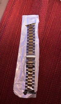 Stainless steel Gold/silver Apple iwatch 2-3-4 band 38-40 mm Vancouver, V6T 3H9