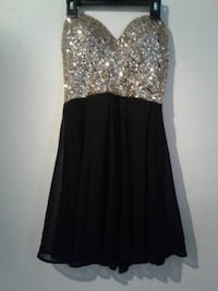 Sparkly gold and black dress Chicago, 60641