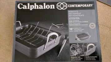 Calphalon Roaster & Rack (NEW)